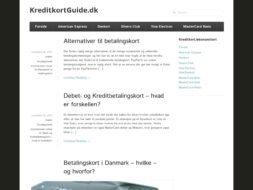 Kreditkortguide.dk Blog