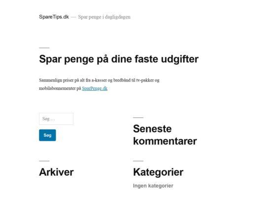 SpareTips.dk